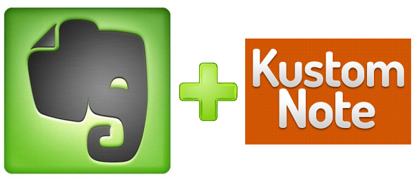 Evernote and Kustomnote